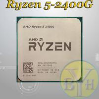 AMD Ryzen 5 2400G Quad-Core 3.6 GHz Socket AM4 65W CPU Processor