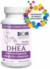 Biom High Potency DHEA(100mg)-Gut microbiome optimized for Boosting Lean Muscle