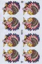 N-186 Indianer Indian Aufkleber Sticker 1 Bogen 27 x 18 cm Racing Tuning