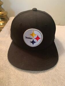 Pittsburgh Steelers NFL Cap New Era 59Fifty Size 6 3/8 Fitted Hologram New AFC