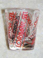 Lorimar Studios - logo shot glass-  Hard to find Hollywood souvenir item- HTF