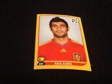#568 Raúl Reyes España Panini Copa del Mundo 2010 edición oro suizo Pegatina