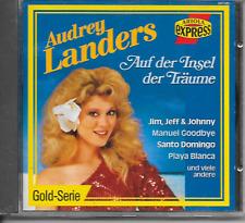AUDREY LANDERS - Auf Der Insel Der Träume CD Album 16TR Euro Disco 1988 Germany