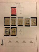 R182 R184 R185 R186 (2) R187 R188 (2) Documentary Stamp Lot Used H CV $100