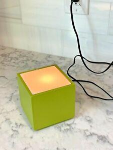 "Mid-Century Modern 4"" CUBELITE Portable Lamp by Underwriters Laboratories *NICE*"