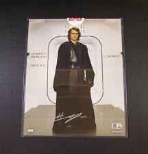 Topps Authentics Hayden Christensen 8x10 Autograph Anakin Skywalker