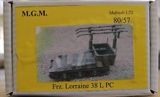 MGM 080-057 1/72 Resin WWII French Lorraine 38 L PC