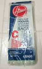 Hoover Genuine Vacuum Cleaner Bags Type C Vintage1985 4 Bags Nip