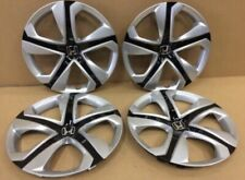 "4 HONDA CIVIC ORIGINAL 16"" FACTORY HUBCAPS OEM WHEEL COVERS 2016 2017 2018 2019"