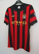 MANCHESTER CITY OFFICIAL  FOOTBALL SHIRT BY UMBRO 2011/2012  SIZE XL