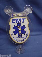 EMT- EMERGENCY MEDICAL TECHNICIAN  NJ CAR memberSHIELD  PBA -EMT-FOP -EMS - FMBA