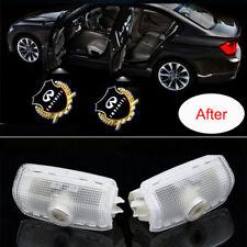 2x LED Car Door Light Logo Projector Ghost Shadow For Infiniti Q50 Q60 Q70 FX35