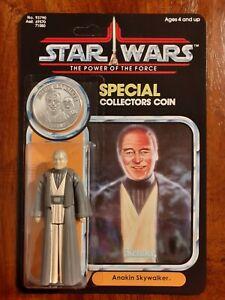 Vintage Star Wars Anakin Skywalker Power Of The Force Recard 1985 Last 17