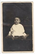 Rppc Baby on Pillow Vintage Real Photo Postcard Post Card Vtg 1918-1930