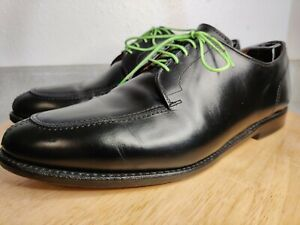 Allen Edmonds LaSalle Dress Shoes Black Leather Split Toe Derby USA Mens 11.5 D