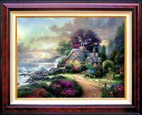 Thomas Kinkade A New Day Dawning Classic Edition 12x16 Framed Canvas