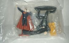 Superman Man of Steel Cake topper kit set bakery crafts toy