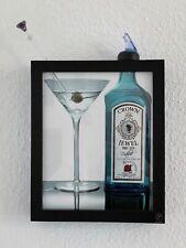 3D Wandbild Bild Gin Martiniglas