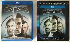Gattaca blu-ray + slipcover Rare Oop Blu-ray Essentials slipcover *Read below*