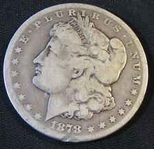 1878-CC Carson City Mint $1 Morgan Silver Dollar AN12