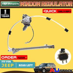 For Jeep Cherokee KJ AJ 2002-2006  Power Window Regulator W/ Motor Rear Left