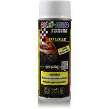 Dupli Color Spray Plast 1x 400ml Abziehlack Glänzend weiß Sprühfolie 388057