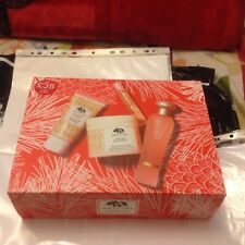 Origins Ginger bath & Body Set/BIRTHDAY/HOLIDAYS/Party/Christmas Gift/RRP £70.