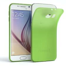 Schutz Hülle für Samsung Galaxy S6 Cover Handy Case Matt Grün