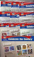 US CELEBRATE THE CENTURY M/NH 1900's-1990's COMPLETE SEALED SET Scott #3182-3191