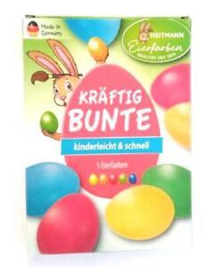 (22,00 € /100ml) Heitmann Kräftig Bunte Farben Ostereierfarbe Ostereierfarben
