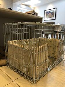 Dog Crate and Bumper