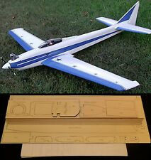 "80"" wing span Sport Pattern KING ALTAIR R/c Plane short kit/semi kit and plans"