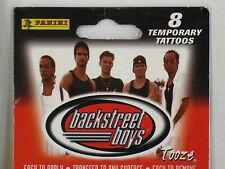 Backstreet Boys Temporary Tattoos Tooze 1999 NIP Sheet of 8 New Free Shipping #