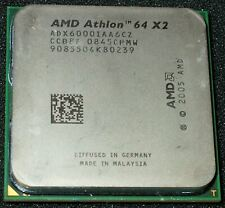AMD Athlon 64 X 2 6000+ 3GHz Dual-Core Processor, ADX6000IAA6CZ, AM2 - US SELLER