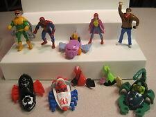 McDonalds 1995 Spider-Man (spiderman)  Happy Meal  - Complete Set of 8 - Loose