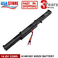 A41N1501 battery for ASUS ROG GL752VW G752VW N552V N552VX N752VX GL752VW-T4108D