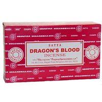 Satya Champa Dragon's Blood Incense Stick,180 Grams Box (15g x 12 Boxes) F ship