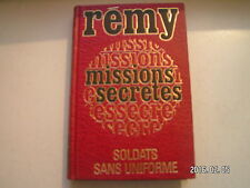 ** Rémy Missions secrètes Soldats sans uniforme Tome 2