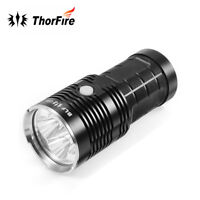 BLF Q8 4 XPL 5000LM Tactical Military LED Flashlight Torch 5-Mode for 18650