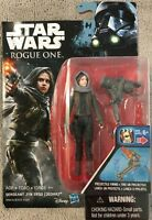 """Star Wars-Rogue One-Sergeant Jyn Erso (Jedha) 3.5"""" Action Figure-NEW-Age 4+"""