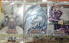 YuGiOh DUSA Duelist Saga Pack Booster Sealed x 3 - Brand New Sealed