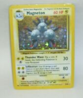 Rare Holo Pokemon Card Magneton  9/102 1999 Wizards