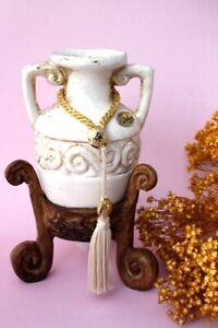 Ceramic Amphora Pot with Stand