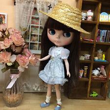 "For RBL 12"" Neo Blythe Doll 1/3 SD DOD AOD Straw Hat BJD Dollife"