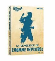 La vengeance de l'homme invisible blu ray neuf full hd 1080