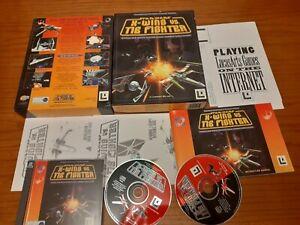 Star Wars X-Wing v Tie Fighter PC BIG BOX