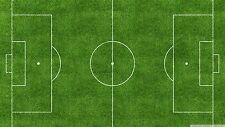 Football Pitch Grass Edible ICING Sheet A4