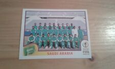 N°331 TEAM EQUIPE ELFTAL # SAUDI ARABIA PANINI 2002 FIFA WORLD CUP KOREA JAPAN