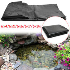 19.69*26.25ft 5 Sizes HDPE Fish Pond Liner Pool Waterproof Impermeable