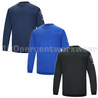 Phoenix Flame Retardant Anti Static Work Sweatshirt Jumper Welding Welders New